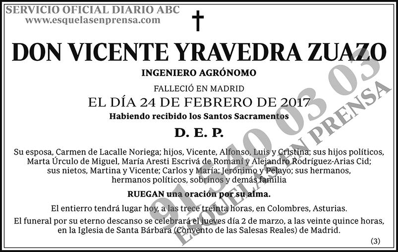 Vicente Yravedra Zuarzo